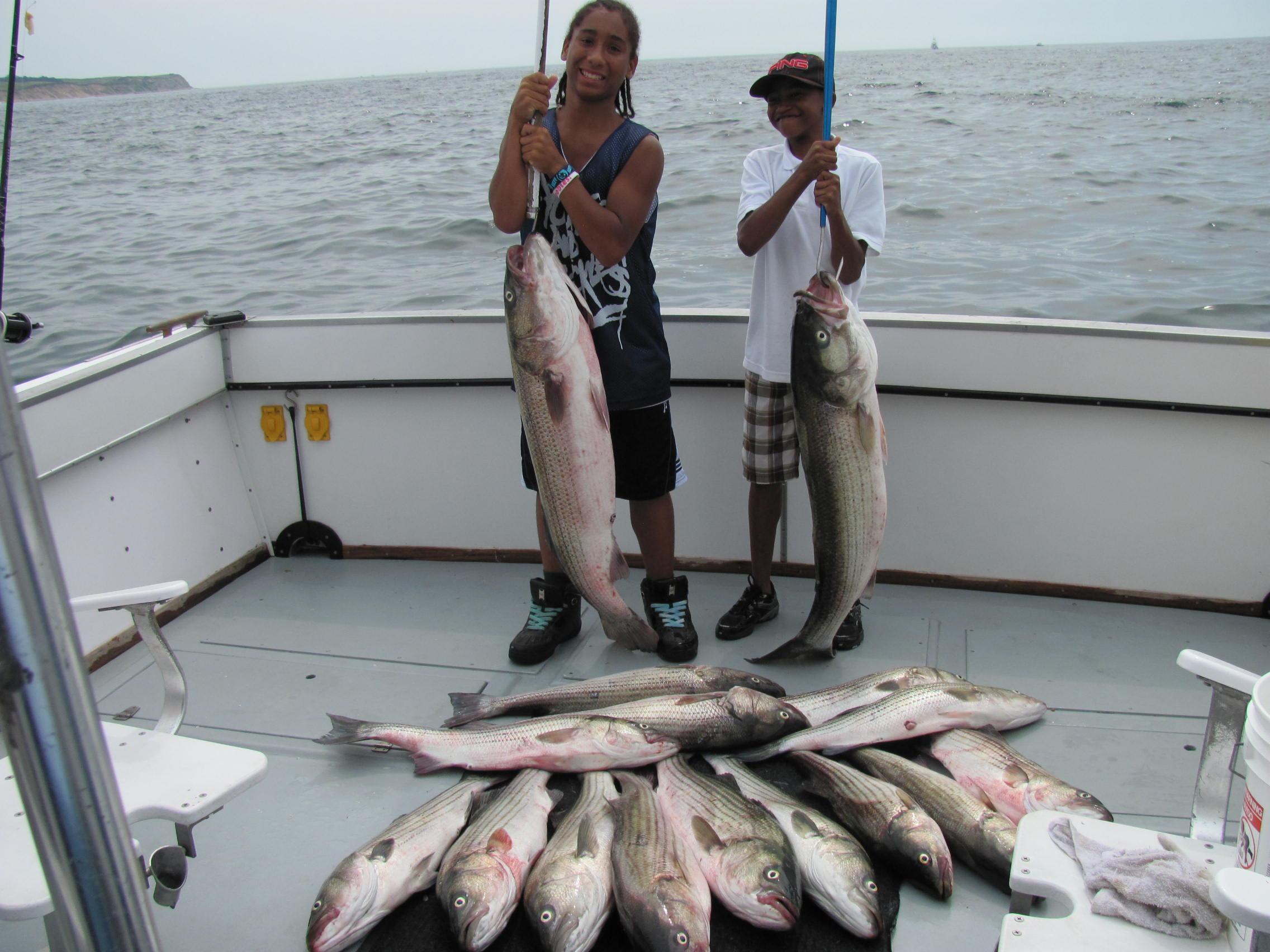 Ri sportfishing charter boat misty photos for Block island fishing charters